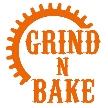 Grind n' Bake Coffee Shop & Bakery Logo